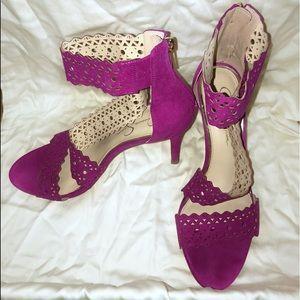 Beautifully Unique, Magenta Heels